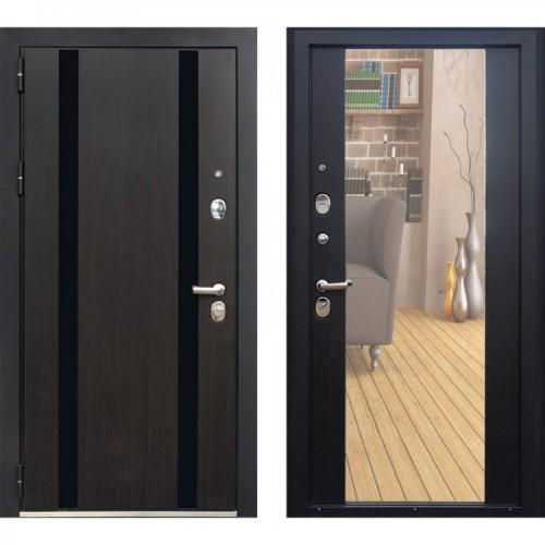 Входная дверь - Персона Гранд-1 венге (зеркало)