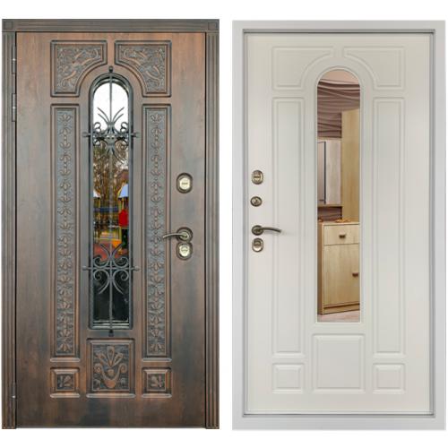 Входная дверь с терморазрывом Лацио Термо эмаль белая (ND)