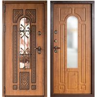 Входная дверь с терморазрывом  Лацио Термо винорит Golden Oak  (ND)