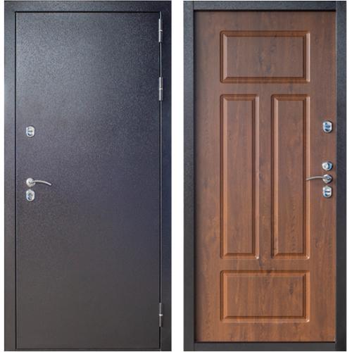 Входная дверь с терморазрывом Сибирь 3К грецкий орех (ND)