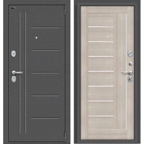 Входная дверь - Porta S 109.П29 Антик Серебро/Cappuccino Veralinga