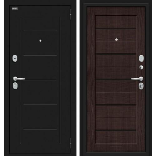 Входная дверь - Борн 117.М22 Лунный камень/Wenge Veralinga