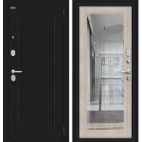 Входная дверь -  Флэш 119.Б15 Букле черное/Cappuccino Veralinga