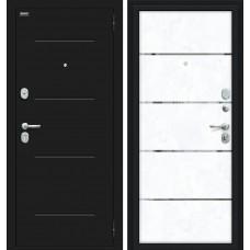 Входная дверь -  Лайн 104.Б0 NEW Лунный камень/Snow Art