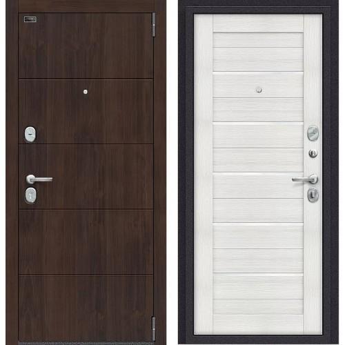 Входная дверь - Porta S 4.П22 (Прайм) Almon 28 / Bianco Veralinga