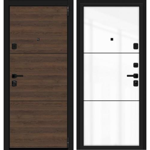 Входная дверь - Porta M П50.П50 (AB-4) Tobacco Greatwood/Silky Way