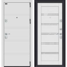 Входная дверь - Porta M 8.Л28 White Stark/Virgin