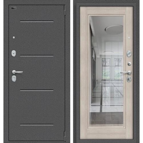 Входная дверь - Porta S 104.П61 Антик Серебро/Cappuccino Veralinga