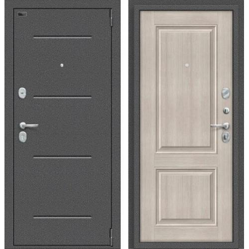 Входная дверь - Porta S 104.К32 Антик Серебро/Cappuccino Veralinga