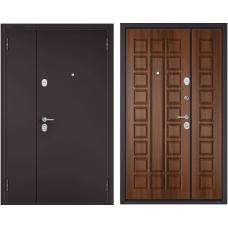 Входная дверь - MEGA Букле шоколад /Орех лесной Х-110