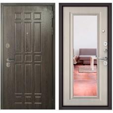Входная дверь - Бульдорс STANDART 90 Дуб Шоколад 9S-111 /Ларче бьянко 9S-140