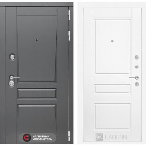 Входная дверь - Платинум 03 - Белый софт
