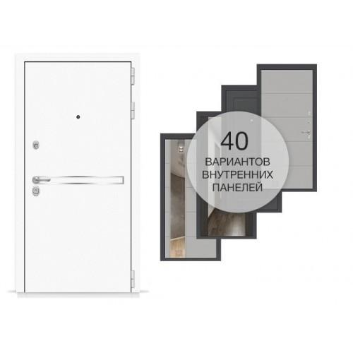 Входная дверь - Лайн WHITE