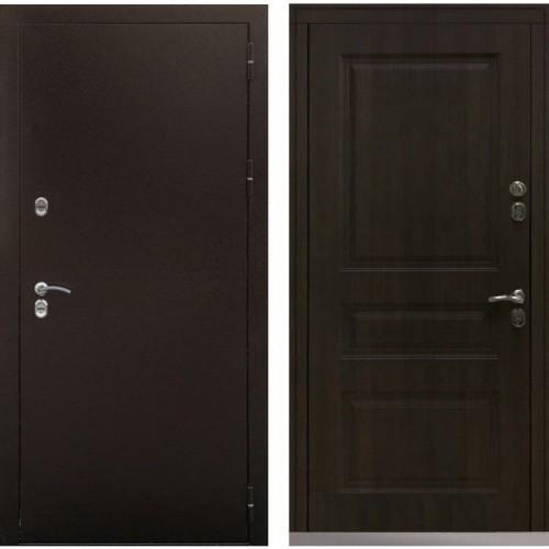 Входная дверь - Снедо Сибирь Термо Стандарт 3К (Антик медь / Тиковое дерево)