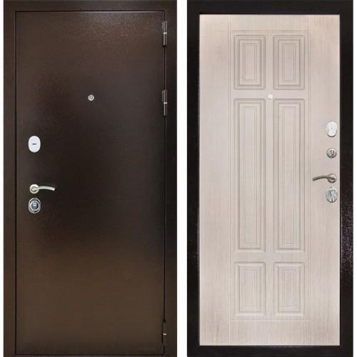 Входная дверь - Снедо Т30 3К (Медный антик / Белая лиственница)