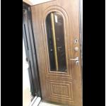 Входная дверь - ФОРТ ТЕРМОРАЗРЫВ 3к с окном и ковкой