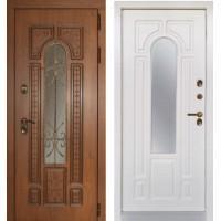 Входная дверь - Лацио с терморазрывом Винорит вайт