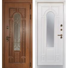 Входная дверь - Лацио с терморазрывом Винорит вайт (ZD)
