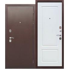 Входная дверь - 10 см ТОЛСТЯК РФ Медный антик БЕЛЫЙ ЯСЕНЬ