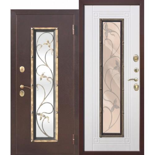 Входная дверь - Плющ Белый ясень