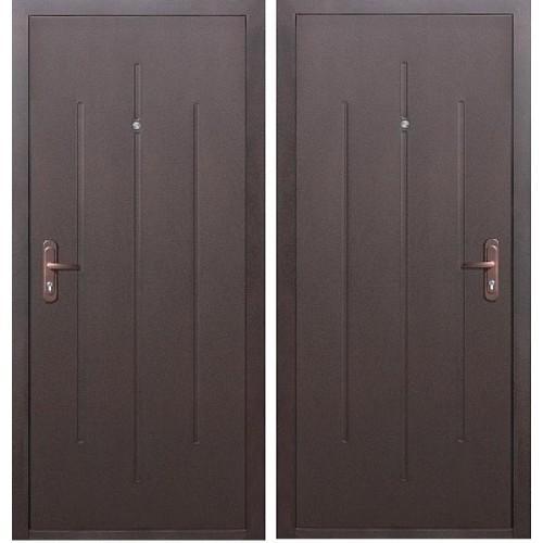 Входная дверь - СТРОЙГОСТ 5-1 металл/металл В/О
