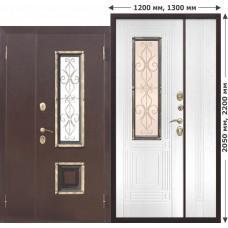 Входная дверь - Венеция 1300 белый ясень
