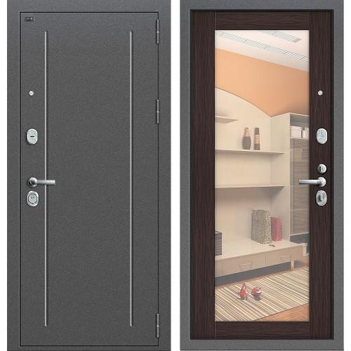 Входная дверь - GROFF Т2-220_New Антик Серебр/Wenge Veralinga