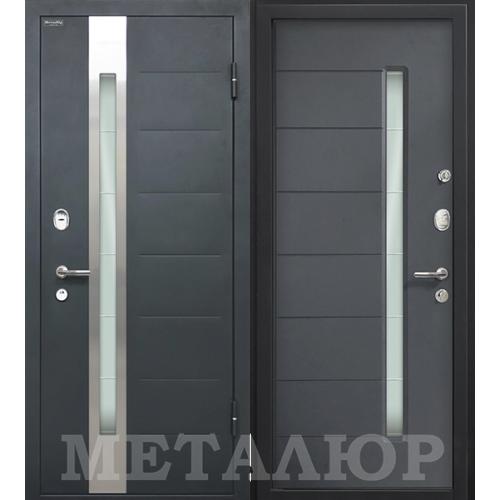 Входная дверь - МеталЮр М36 Антрацит
