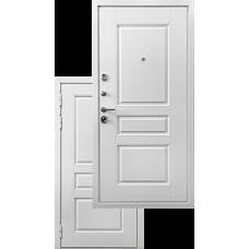 Входная дверь - Белая дверь Ратибор Сноу 3К Силк сноу