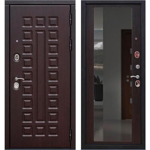 Входная дверь - VERDA SD PROF-5 СЕНАТОР ЗЕРКАЛО ВЕНГЕ