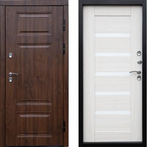 Входная дверь с терморазрывом - Сибирь термо премиум лиственница царга Винорит (TD)