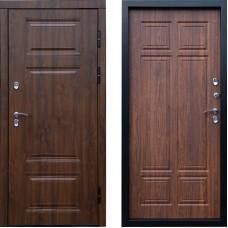 Входная дверь с терморазрывом -  Сибирь термо премиум орех Винорит