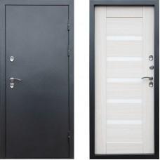 Входная дверь с терморазрывом -  Сибирь термо серебро графит царга