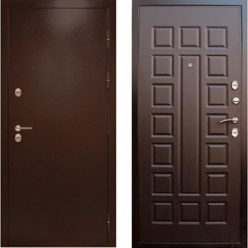 Входная дверь с терморазрывом - Сибирь термо венге шоколад (TD)