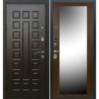 Входная дверь - Аристократ АРС-5 с зеркалом орех