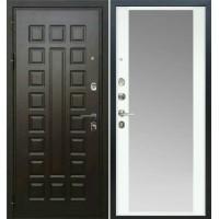 Входная дверь - Аристократ АРС-5 с зеркалом белый