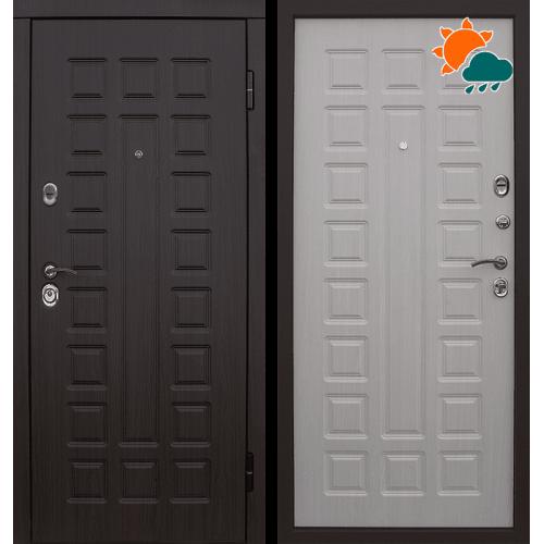 Входная дверь - Сенатор 2К винорит венге/белая лиственница