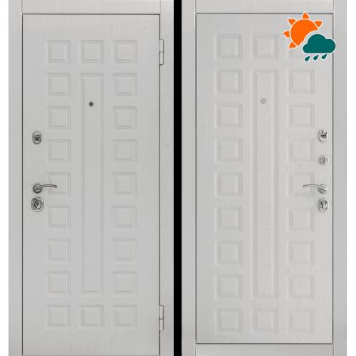 Входная дверь - Снедо Сенатор 2К (Альберо браш грей / Альберо браш грей)