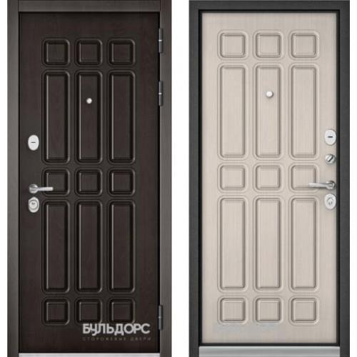 Входная дверь - Бульдорс STANDART 90 Дуб Шоколад 9S-111/Ларче 9S-111