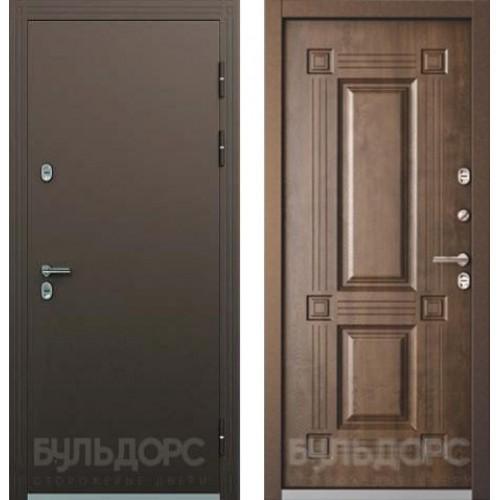 Входная дверь Бульдорс Термо 2 орех грецкий ТВ 2.2
