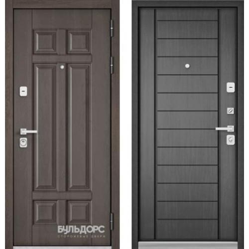 Входная дверь - PREMIUM 90 ( Дуб шале серебро 9Р-115 / Дуб серый 9Р-137)