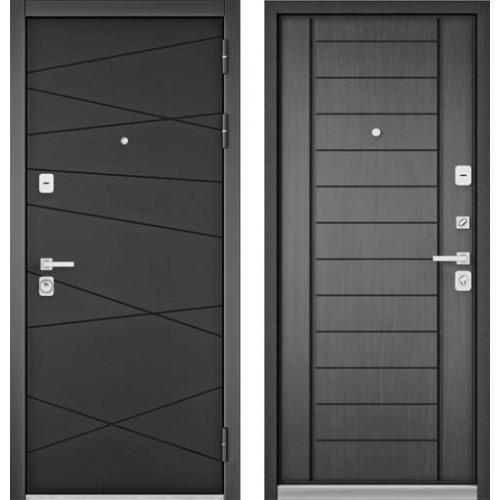 """Входная дверь - Бульдорс PREMIUM 90 Графит софт 9Р-130, Цвет """"Дуб серый"""""""