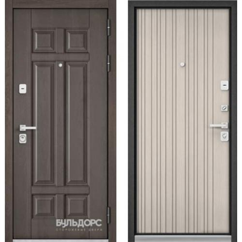 Входная дверь - PREMIUM 90 (Дуб шале серебро 9Р-115 / Ларче бьянко 9Р-131)