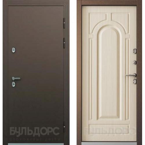 Входная дверь - Дверь Бульдорс ТЕРМО-2 Медь/Белый перламутр, рис. ТВ-1.2