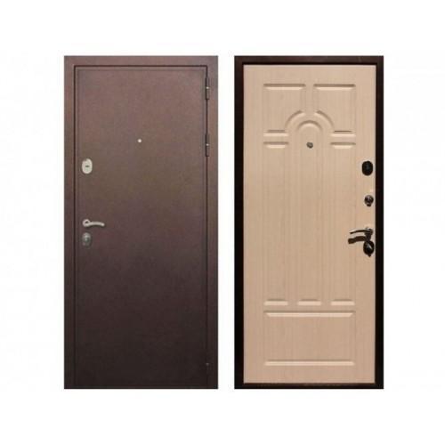 Входная дверь REX 5А Беленый дуб
