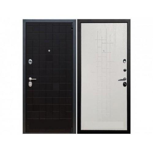 Входная дверь REX 12 Тетрис (Белый роял вуд)