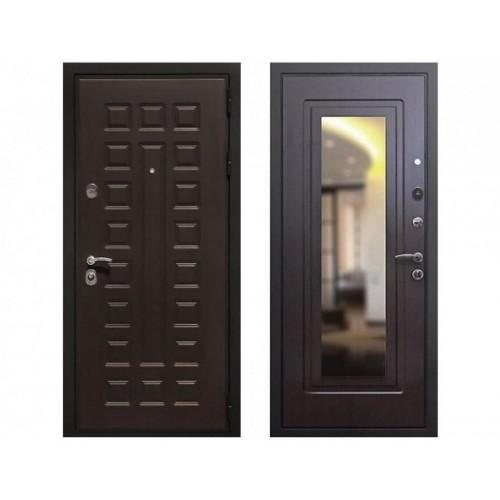 Входная дверь REX Премиум 3 Зеркало Венге