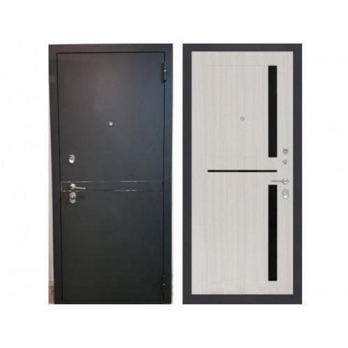 Входная дверь Rex Лайн СБ-18 Беленый дуб
