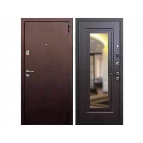 Входная дверь REX 1A Зеркало Венге