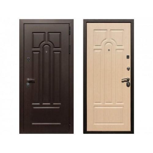 Входная дверь REX Эврика Беленый дуб